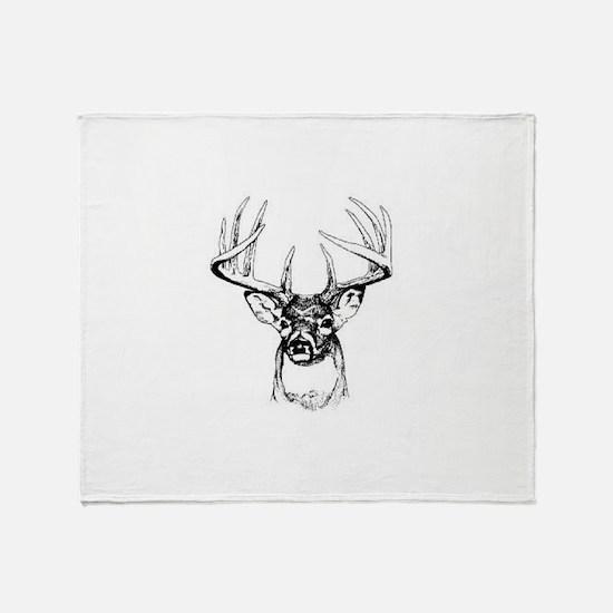 Big Buck Throw Blanket