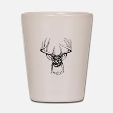 Big Buck Shot Glass