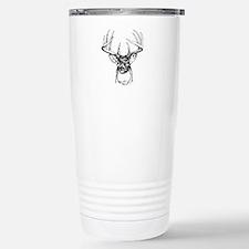 Big Buck Stainless Steel Travel Mug