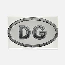 DG Metal Rectangle Magnet