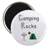 CAMPING ROCKS Magnet