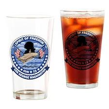 Patch USS Washington Drinking Glass