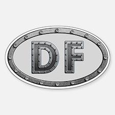 DF Metal Decal