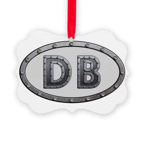 DB Metal Picture Ornament