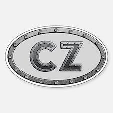 CZ Metal Decal