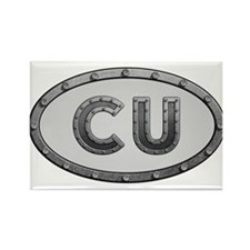CU Metal Rectangle Magnet