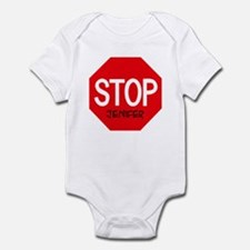 Stop Jenifer Infant Bodysuit