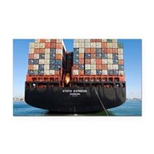 Container ship - Car Magnet
