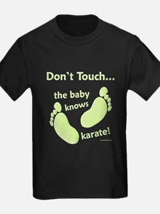 Karate Baby Green T