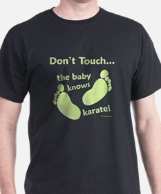 Karate Baby Green T-Shirt