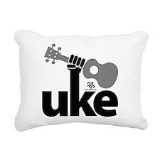 Uke Fist Rectangular Canvas Pillow