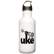Uke Fist Sports Water Bottle
