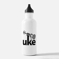 Uke Fist Sports Water Bottle