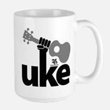 Uke Fist Ceramic Mugs