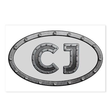 CJ Metal Postcards (Package of 8)