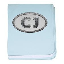CJ Metal baby blanket