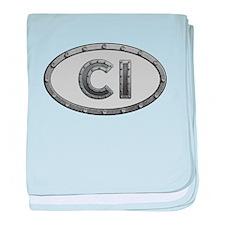 CI Metal baby blanket