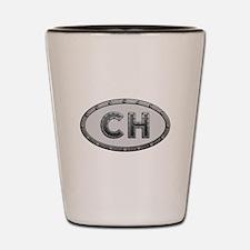 CH Metal Shot Glass