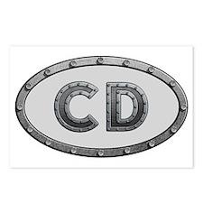 CD Metal Postcards (Package of 8)