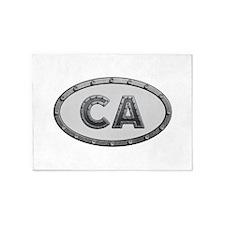 CA Metal 5'x7'Area Rug
