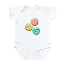 Babys 1st Valentines Day Infant Bodysuit