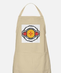 New Mexico Boxing BBQ Apron