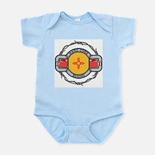 New Mexico Boxing Infant Bodysuit