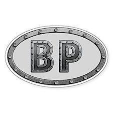 BP Metal Decal