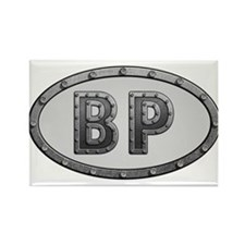 BP Metal Rectangle Magnet