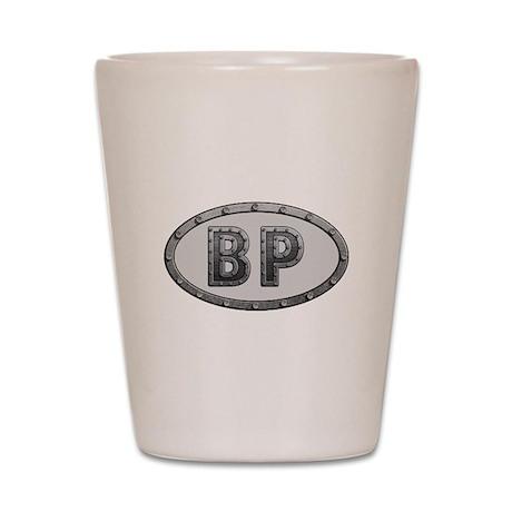 BP Metal Shot Glass