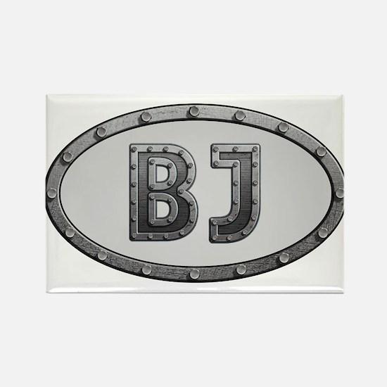 BJ Metal Rectangle Magnet