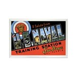 San Diego Naval Base Rectangle Magnet (10 pack)