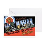 San Diego Naval Base Greeting Cards (Pk of 10)