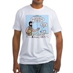 Peter Feeding Sheep Fitted T-Shirt