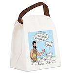 Peter Feeding Sheep Canvas Lunch Bag
