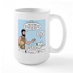 Peter Feeding Sheep Large Mug