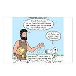 Peter Feeding Sheep Postcards (Package of 8)