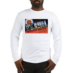 San Diego Naval Base (Front) Long Sleeve T-Shirt