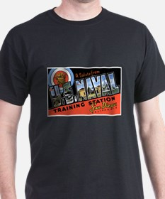 San Diego Naval Base (Front) T-Shirt