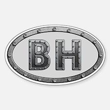 BH Metal Decal