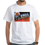San Diego Naval Base (Front) White T-Shirt