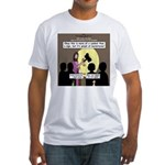 Jesus Signs and Symbols Fitted T-Shirt