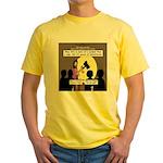 Jesus Signs and Symbols Yellow T-Shirt