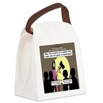 Jesus Signs and Symbols Canvas Lunch Bag