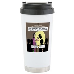 Jesus Signs and Symbols Stainless Steel Travel Mug