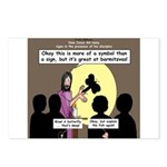 Jesus Signs and Symbols Postcards (Package of 8)