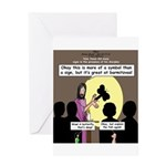 Jesus Signs and Symbols Greeting Card