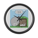 Easter Surprise Large Wall Clock