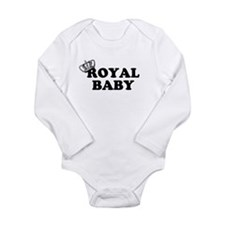 Royal Baby Long Sleeve Infant Bodysuit