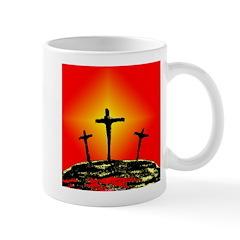 Three Crosses Mug